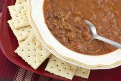 pucharu chili domowej roboty gorący Fotografia Stock