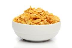 pucharu cornflakes stos obraz royalty free