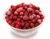 pucharu cranberry szkło Zdjęcie Royalty Free