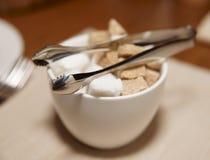 pucharu cukier trzcina przerafinowywający cukier Zdjęcie Royalty Free