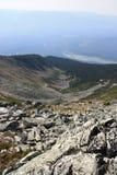 pucharu góry dolina zdjęcia stock
