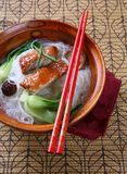 pucharu kaczki klusek Peking ryż polewka Obrazy Stock