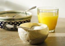 pucharu śniadania cukier Obrazy Royalty Free