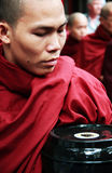 pucharu posiłku michaelita Myanmar portret Zdjęcia Stock
