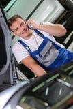pucharu samochodowy dźwignięcie podnosząca nafciana zastępstwa usługa Obraz Royalty Free