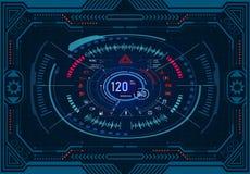 pucharu samochodowy dźwignięcie podnosząca nafciana zastępstwa usługa Futurystyczny deska rozdzielcza projekt na graficznym monit ilustracja wektor