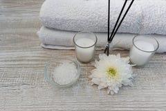 pucharu składu gerber spławowy zdrój dryluje ręczniki Obraz Royalty Free