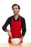 pucharu szef kuchni wzbudzanie Zdjęcie Stock