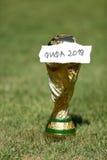 Pucharu Świata trofeum 2018 Zdjęcie Royalty Free