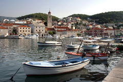 Pucisca on Brac Island, Croatia Stock Photo
