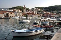 Pucisca na Brac wyspie, Chorwacja Zdjęcie Stock