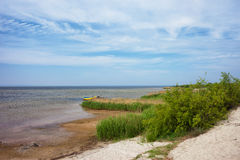 Puck Bay Shore on Hel Peninsula in Jastarnia Stock Photo