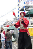 Puck Fair Busker Royalty Free Stock Photos