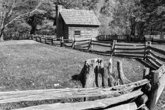 Puckett Cabin Stock Images