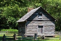 "Puckettcabine †""Virginia, de V.S. Royalty-vrije Stock Foto's"