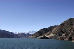 Puclaro Dam, Chile Stock Image