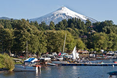 Pucon Chile Stock Photos