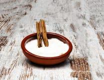 Pudín de arroz Imagen de archivo libre de regalías