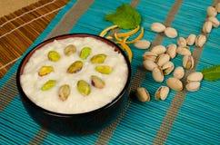 Pudín de arroz indio Imagen de archivo libre de regalías