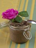 Pudín de chocolates Foto de archivo libre de regalías