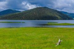 Puda-Cuo Nationaal Park, Shangri-La Stock Foto's