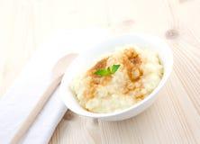 puddingów cynamonowi ryż obrazy royalty free
