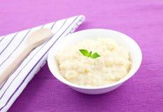puddingów ryż Fotografia Royalty Free