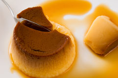 Pudding Stockfoto