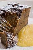 Pudding cake Royalty Free Stock Photo