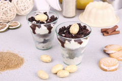 Pudding Cup Stock Image
