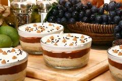 Pudding de beurre d'arachide photo stock