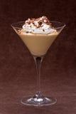 Pudding de caramel au beurre photographie stock libre de droits