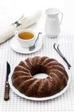 Pudding de chocolat Photo libre de droits