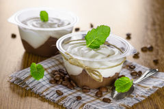 Pudding de chocolat Image libre de droits