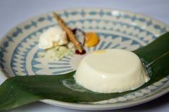 Pudding de jasmin Image stock