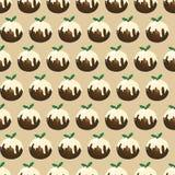 Pudding de Noël sans joint Photo libre de droits