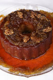 Pudding de potiron avec des noix Image libre de droits