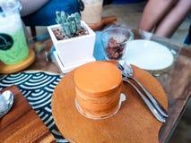 Pudding de thé Image stock