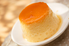 Pudding, delicious dessert Royalty Free Stock Photos