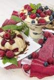 Pudding Dessert Stock Photos