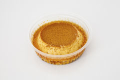 Pudding dessert to go Stock Photo