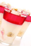 Pudding desserts Royalty Free Stock Photography