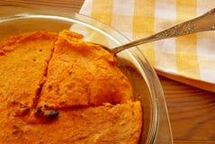 Pudding di carota Fotografia Stock Libera da Diritti