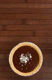 Pudding di vaniglia Immagine Stock