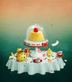 Pudding Royalty Free Stock Photos