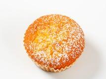 Pudding filled cupcake Royalty Free Stock Photo