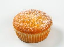 Pudding filled cupcake Royalty Free Stock Photos