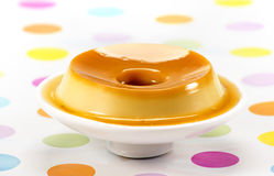Pudding, heerlijk dessert Royalty-vrije Stock Foto