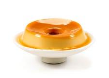 Pudding, köstlicher Nachtisch lizenzfreie stockfotografie