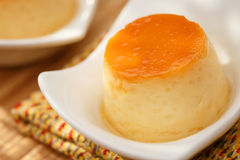 Pudding läcker efterrätt Royaltyfri Foto